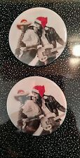 Bruce Springsteen Born To Run Christmas Badges Buttons Pinback