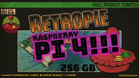 Biggest & Best microSD Card for The Raspberry Pi 4! 256gb with RetroPie 4.6!