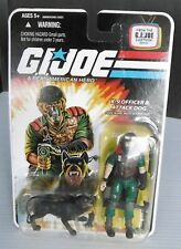 GI JOE Mutt & Junkyard A Real American Hero K-9 Officer & Attack Dog