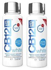 2 x CB12 White Mouthwash 500ml Whitening Effect After 2 weeks & Fresh Breath!