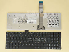 FOR ASUS U57VM R500A R500VD R500VD R500VJ R500VM R500VS Keyboard Nordic No Frame