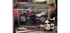 1:18 Motorcycle Majorette KTM 540 SXC #10 w/Base Die-Cast Metal MIB