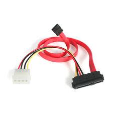 StarTest SAS 29 Pin to SATA Cable LP4 Power - 1.5FT