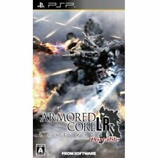 Used PSP Armored Core Last Raven  SONY PLAYSTATION JAPAN IMPORT