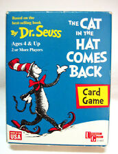 CAT IN THE HAT COMES BACK Dr. Seuss Card Game by University Games 1998 Ages 4+