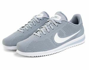 Nike Cortez Ultra Moire Men's CN5163-001 Wolf Grey Obsidian White Rare