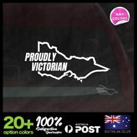 Proudly Victorian Melbourne 145x70mm Vinyl JDM Sticker Decal Car Motorbike