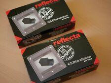 2 x 200 REFLECTA CS Diarahmen neu in OVP Made in Germany System Agfa CS