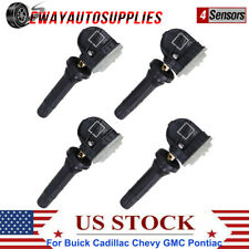 4 Tire Pressure Monitoring System Tpms Sensor For Buick Chevy Gm Saab 13586335