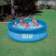 """10 ft x30"""" INTEX Easy Set Summer Inflatable Above Ground Pool PVC Tub"""