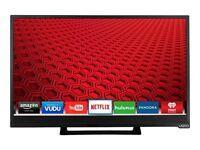 """NEW Vizio E-Series E24-C1 24"""" 1080p HD LED LCD Internet TV"""