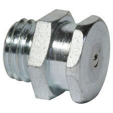 M12 x 1,5 [100 Stück] DIN 3404 T1B Flachschmiernippel Stahl verzinkt