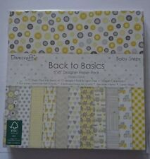 Back to Basics 'Baby Steps' paper pad 6x6