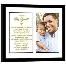 Godchild Gift From Godfather Baptism, Christening Or Birthday - Add Photo Baby