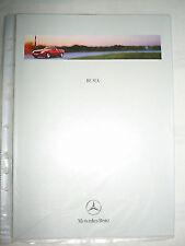 Mercedes SLK Roadster brochure Feb 1999 Flemish text