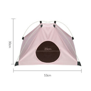 Thickened Home Dogs Cats Sleeping Bed Soft Nests Waterproof Foldable Tent Kennel
