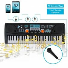 Pyle PKBRD4112 Digital Electronic Musical Keyboard, Kids Learning, Portable