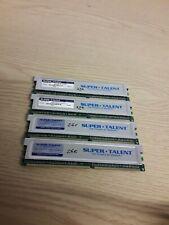lot of 4x Super Talent D32PB1GJ 1GB PC3200 DDR400 Desktop Memory TESTED
