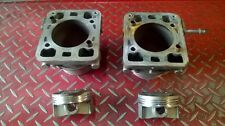 Cylindres et pistons Ducati 748 diamètre 88