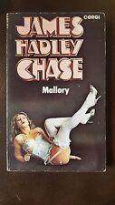 "James Hadley Chase, ""Mallory,"" 1978, CORGI 10765 ,VG+"