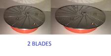 TWO NEW BLADE FOR JACK LALANNE POWER JUICER 2 BLADES ORANGE