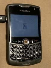 """BlackBerry Curve 8330 Titanium Sprint Smartphone """"AS IS"""" Cell Phone Mobile BLM"""