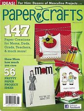 Paper Crafts magazine Mom dad Graduation Pretty projects Masculine projects