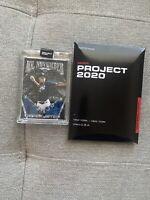 TOPPS PROJECT 2020 Derek Jeter Card #132 by Ben Baller