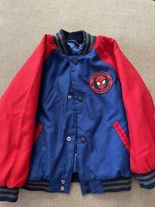 Marvel Spiderman Jacket Boys Size 4
