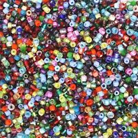 Czech Glass Seed Bead Color Mix One Ounce (1oz) pack Bead Size: 9/0 3 cut