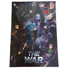 EXO The War Paper card  Full Set 9p