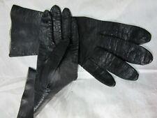 Nice Pair of Vintage Leather gloves Black