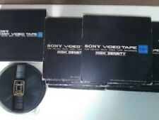 More details for sony video tape for helical scan video tape recorders (v-60h)
