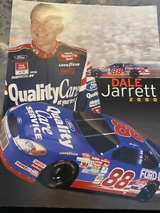 dale jarrett 2000 Fan Folder Souvenir