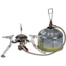 SCORPION LIGHTWEIGHT COMPACT CAMPING GAS STOVE piezo ignition cooker portable