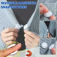 Invisible Magnetic Snap Fasteners Button Handbag Purse Sewing Accessories Y0D4