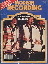 Modern Recording Magazine Sep 1978 JVC KD-85,Yamaha TC-1000,Uni-Sync Model 100