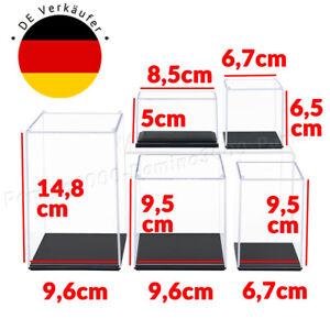Klein Acryl Vitrine Einzelvitrine Plexiglas Figur Modellautos 1:64 Schaukasten