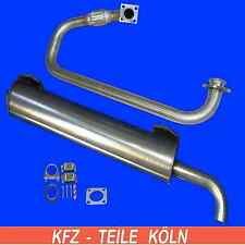 Stainless Steel VW Transporter T3 1.7 D Diesel Silencer + Y-Pipe Mounting Set