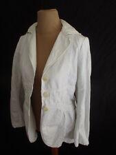 Veste Cotélac Blanc Taille S à - 65%