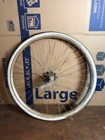 "Vintage Firestone 26"" Bicycle Rim Bendix Hub for Parts or Repair"