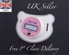 PINK GIRL temperatura Manichino Ciuccio UK LCD Display Medical Health Baby Bambino