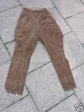 Pantalon de  ski ancien pour femme Forme culotte de cheval  Velours côtelé