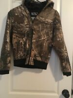 WALLS Kids Jacket Hunting Sz Youth L Regular Hooded Zippered