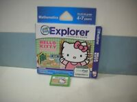 LEAP FROG EXPLORER HELLO KITTY SWEET LITTLE SHOP GAME LEAP PAD ULTRA LEAPSTER GS