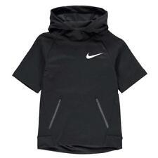 Nike Techy Manga Corta Con Capucha Junior chicos tamaño 8-10 años ref C2639 -