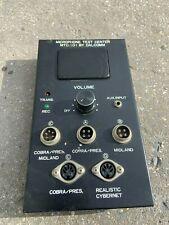 microphone test center mtc-101