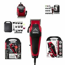 Haircut Grooming Kit Wahl Professional Hair Clipper Trimmer 20 Piece Set Barber