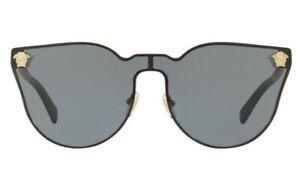 NEW Genuine VERSACE Medusa Icon JANUARY JONES Vintage Sunglasses VE 2120 100287