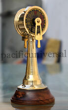 Vintage Brass Telegraph Marine SHIP ENGINE Nautical Telegraph Collectible Decor